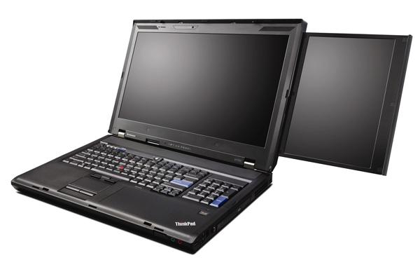 Laptop με 2 οθόνες