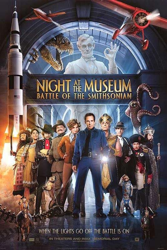 Μία νύχτα στο μουσείο 2 - Battle of the Smithsonian