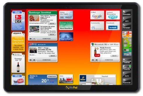 WePad, η Γερμανική απάντηση στο iPad