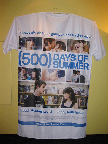 500 days of summer. Η σκηνή της τράπεζας (;)