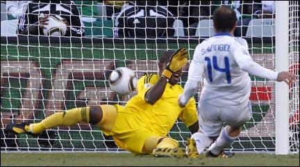 Ελλάδα - Νιγηρία 2-1
