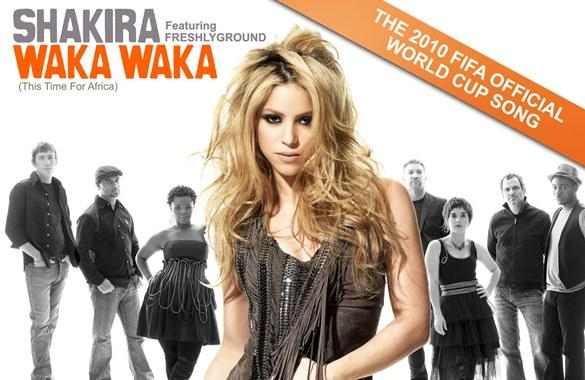 Shakira - Waka Waka: το επίσημο τραγούδι του Mundial