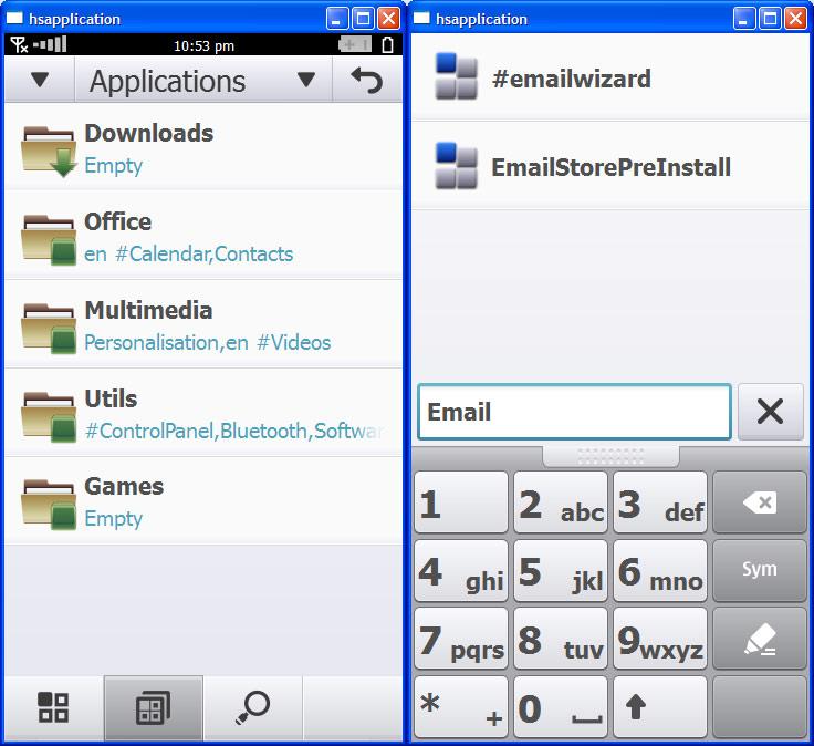 Οι πρώτες εικόνες του Symbian^4