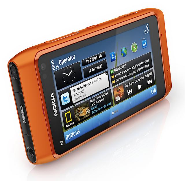 Τεράστια touch screen οθόνη χάρη στο N8