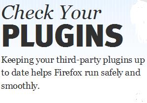 Γρήγορος έλεγχος plug-ins στο Firefox