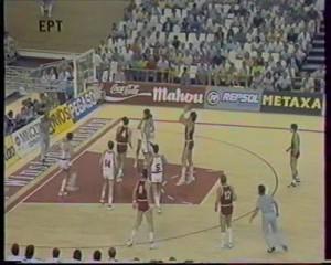 Μουντομπάσκετ '86 Ημιτελικός Σοβιετική Ένωση - Γιουγκοσλαβία