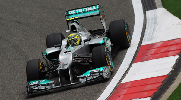 F1: Κίνα: Ο Rosberg την pole position
