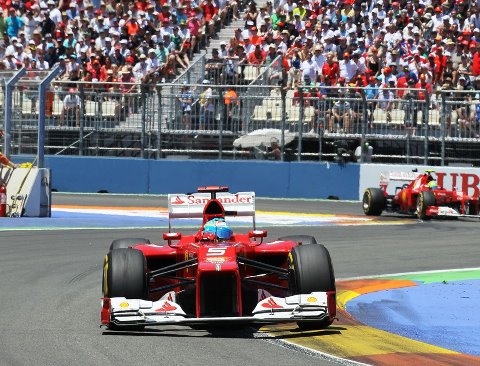 F1: Europe: Δεύτερη νίκη για τον Alonso