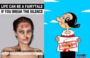 Ένα πρότζεκτ κατά της κακοποίησης με διάσημες γυναίκες και ηρωίδες ως θύματα